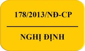 Nghị Định 178/2013/NĐ-CP QĐ Xử Phạt HC Về ATTP