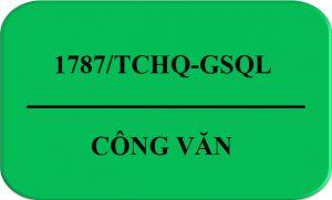 1787/TCHQ-GSQL