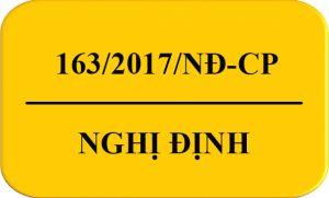 Nghị định 163/2017 NĐ CP