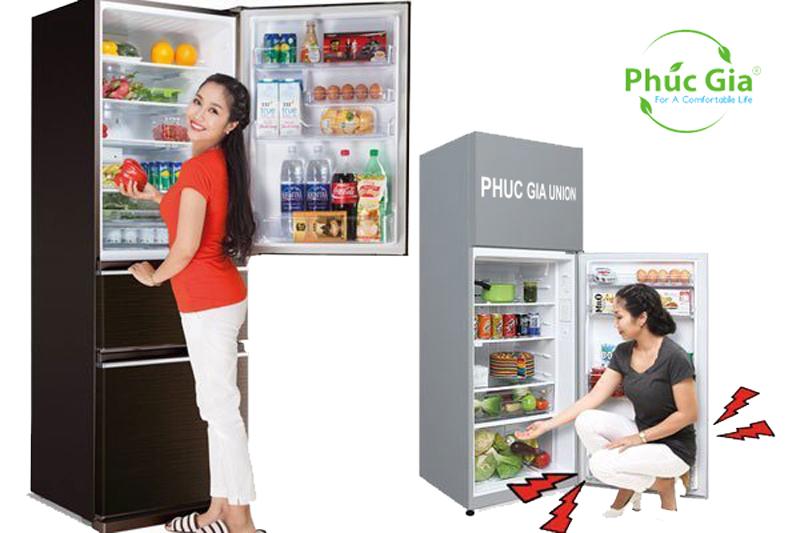 Nên Lựa Chọn Tủ Lạnh Có Ngăn Đông Đá Trên Hay Dưới?