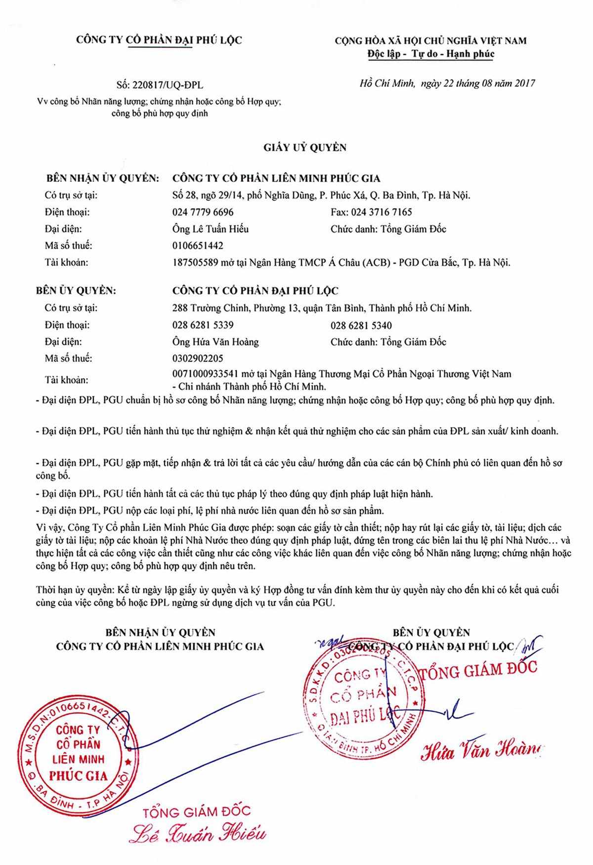 TUQ Đại Phú Lộc-PGU