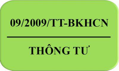 Thong_Tu-09-2009-TT-BKHCN