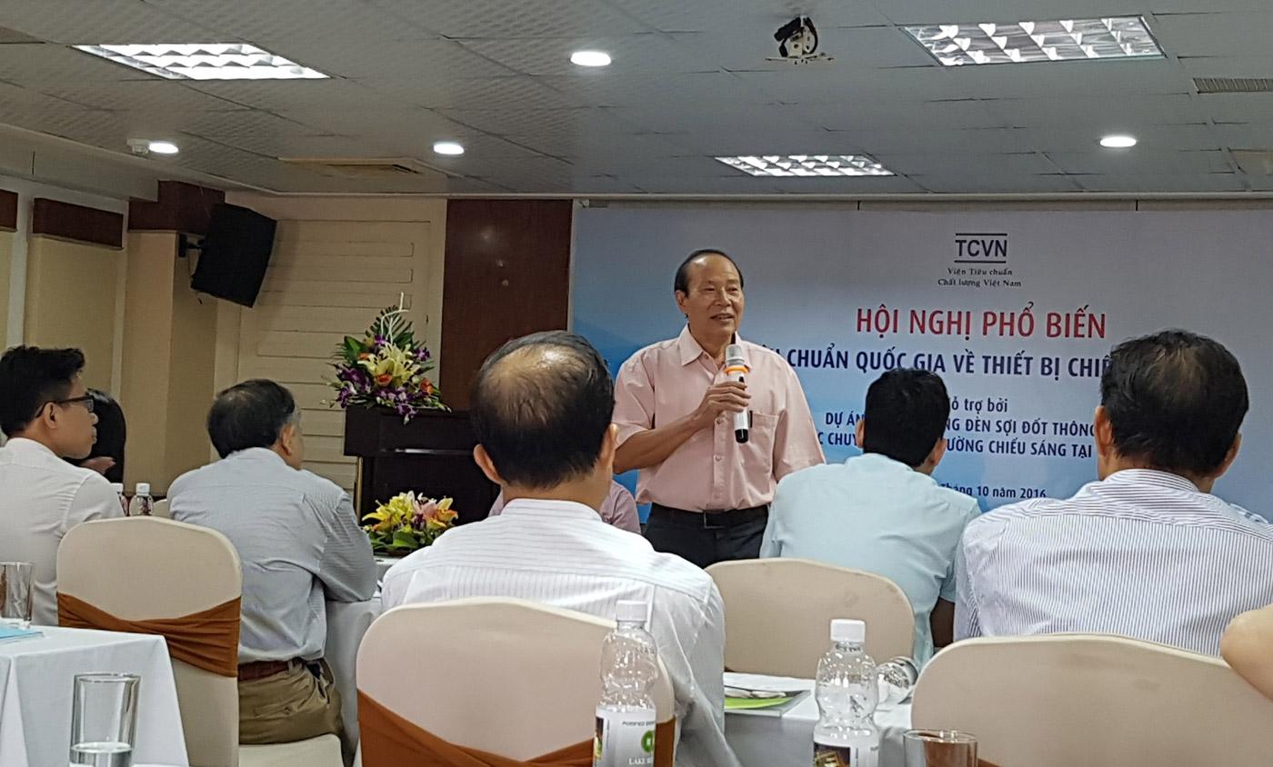 Ông Lương Văn Phan – Trưởng Ban kỹ thuật Tiêu chuẩn quốc gia