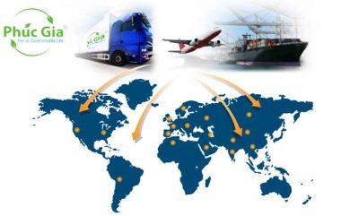 Chi Nhánh Logistics Của Phúc Gia® Trên Toàn Thế Giới