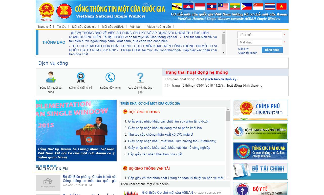 Hướng dẫn đăng kí online Kiểm tra Nhà nước