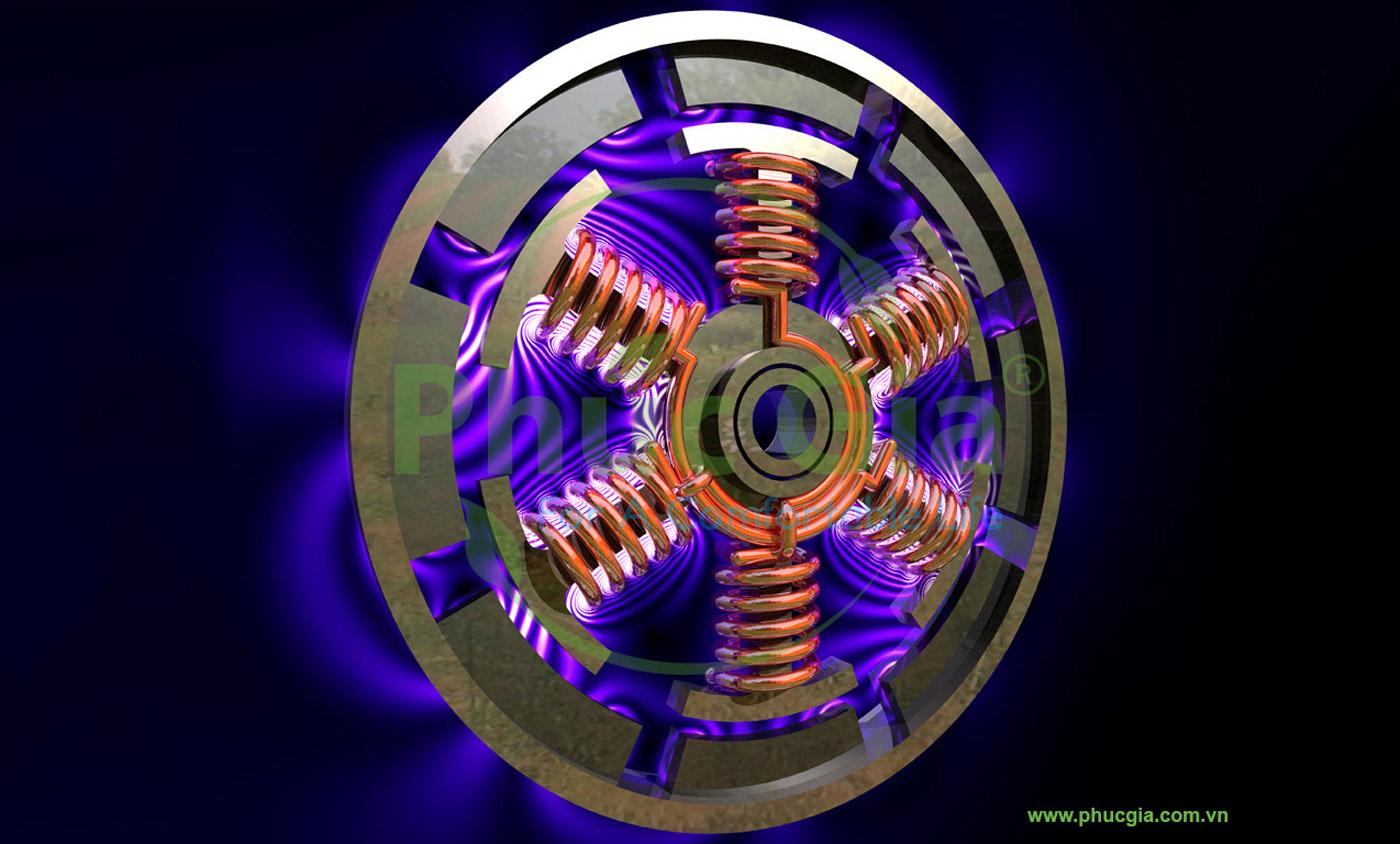 Động Cơ Điện 6 Cực