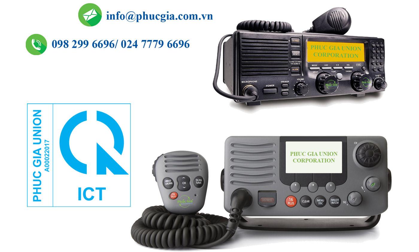 Dịch Vụ CN/ CBHQ Cho TB Thu Phát Vô Tuyến VHF Của Trạm Ven Biển Thuộc Hệ Thống GMDSS Nhanh