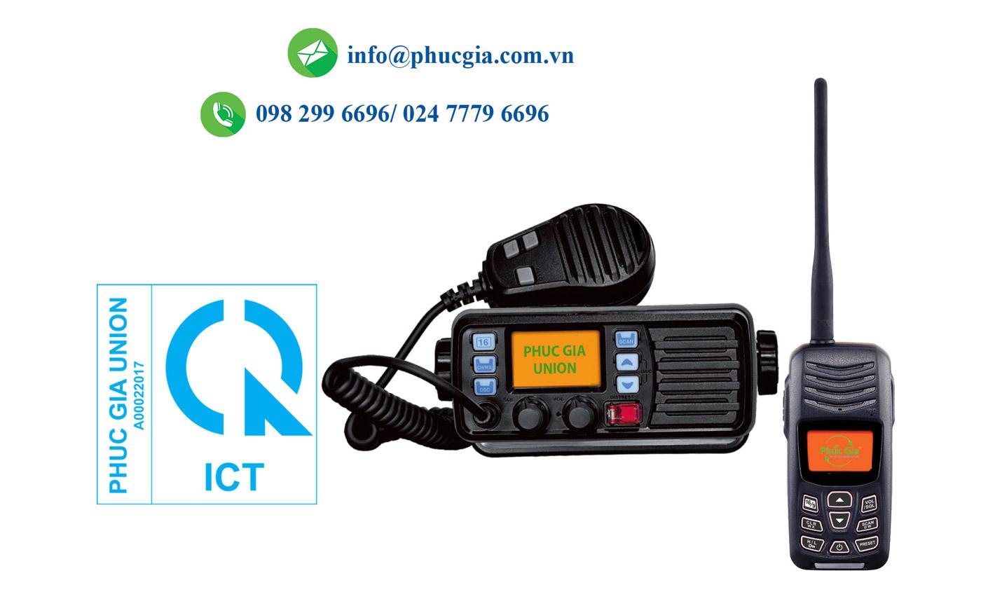 Thiết Bị Điện Thoại VHF Hai Chiều Lắp Đặt Cố Định Trên Tàu Cứu Nạn