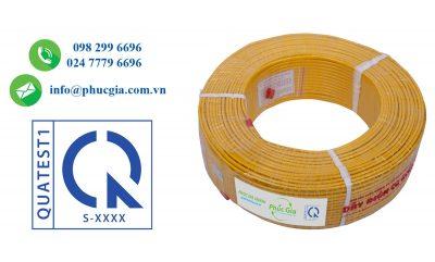 Hợp Quy Dây Điện Bọc Nhựa PVC