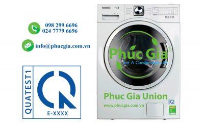 Chứng Nhận Hợp Quy Máy Giặt