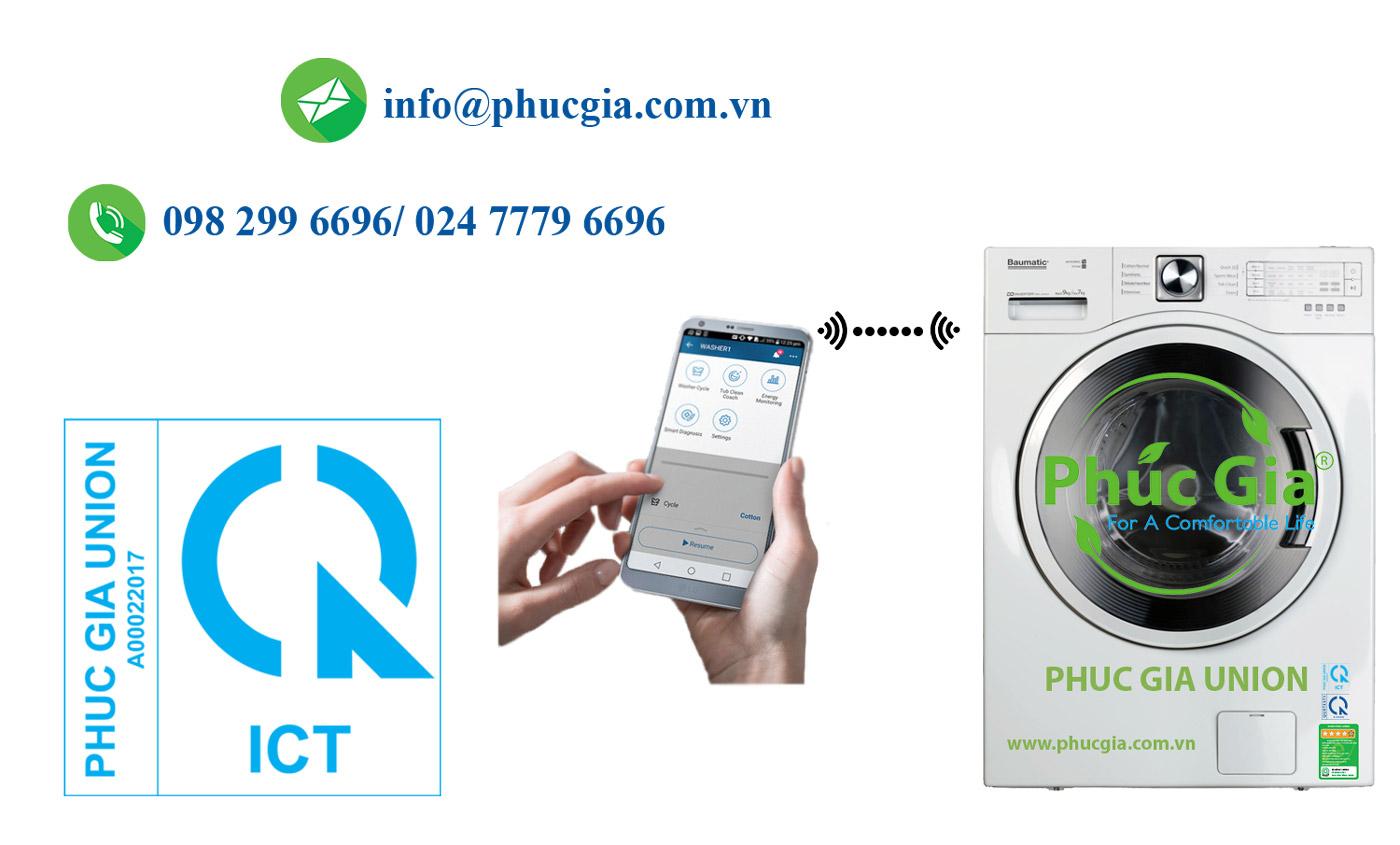 Chứng Nhận Và Công Bố Hợp Quy Cho Máy Giặt Có Chức Năng Wifi Băng Tần 2,4 GHzCó Công Suất Bức Xạ Đẳng Hướng Tương Đương Từ 60 mW Đến 100 mW