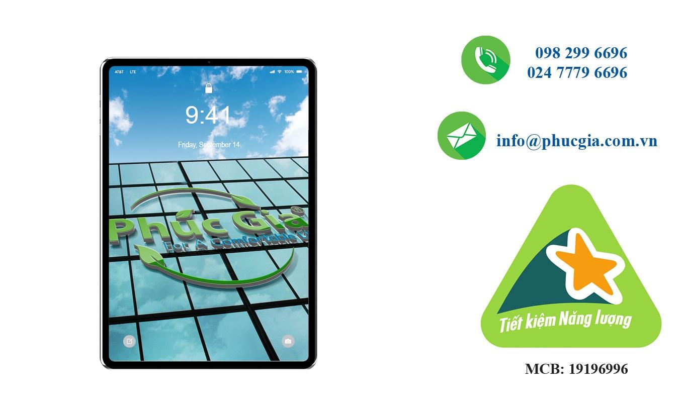 công bố nhãn năng lượng cho Ipad, Tablet
