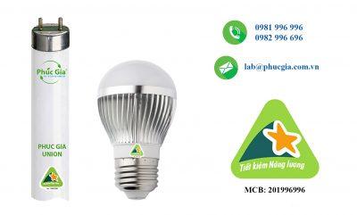 công bố nhãn năng lượng đèn LED