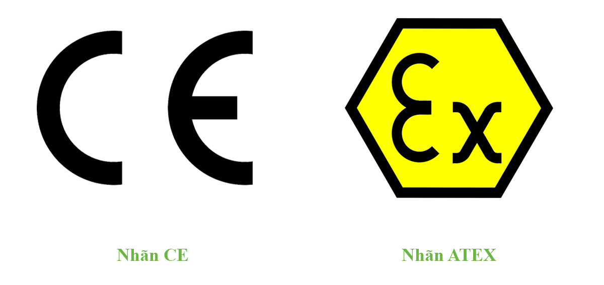 Nhãn CE và Nhãn ATEX