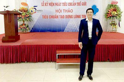 Tổng giám đốc Phúc Gia dự hội thảo tiêu chuẩn thế giới
