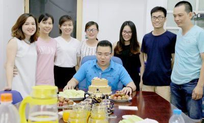 Sinh nhật Sếp Liên Minh Phúc Gia – Lê Tuấn Hiếu