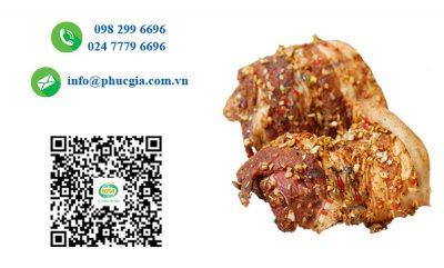 Công Bố ATTP Thịt Ba Rọi Khô