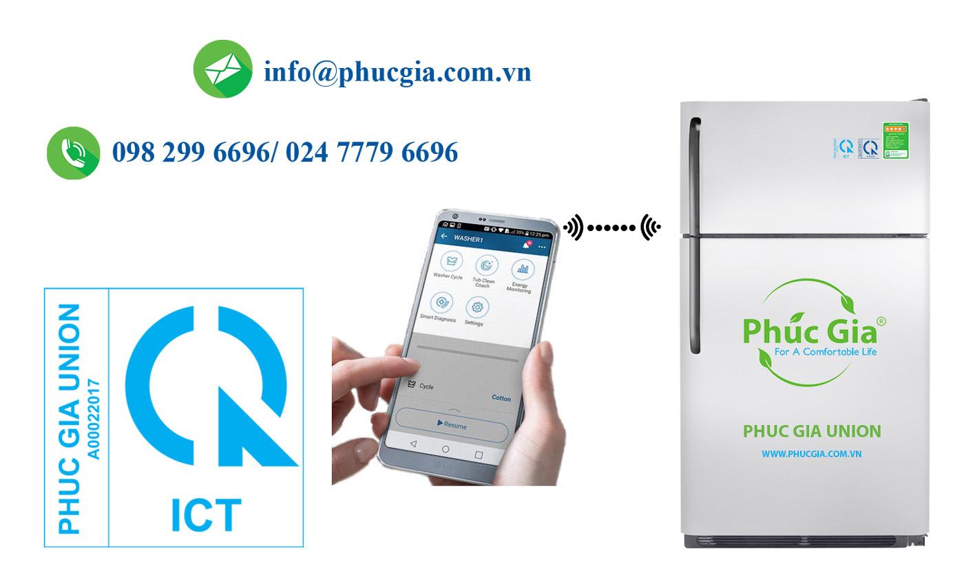 Chứng Nhận Và Công Bố Hợp Quy Cho Tủ Lạnh Có Chức Năng Wifi Băng Tần 2,4 GHzCó Công Suất Bức Xạ Đẳng Hướng Tương Đương Từ 60 mW Đến 100 mW