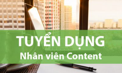 Tuyển Dụng Content