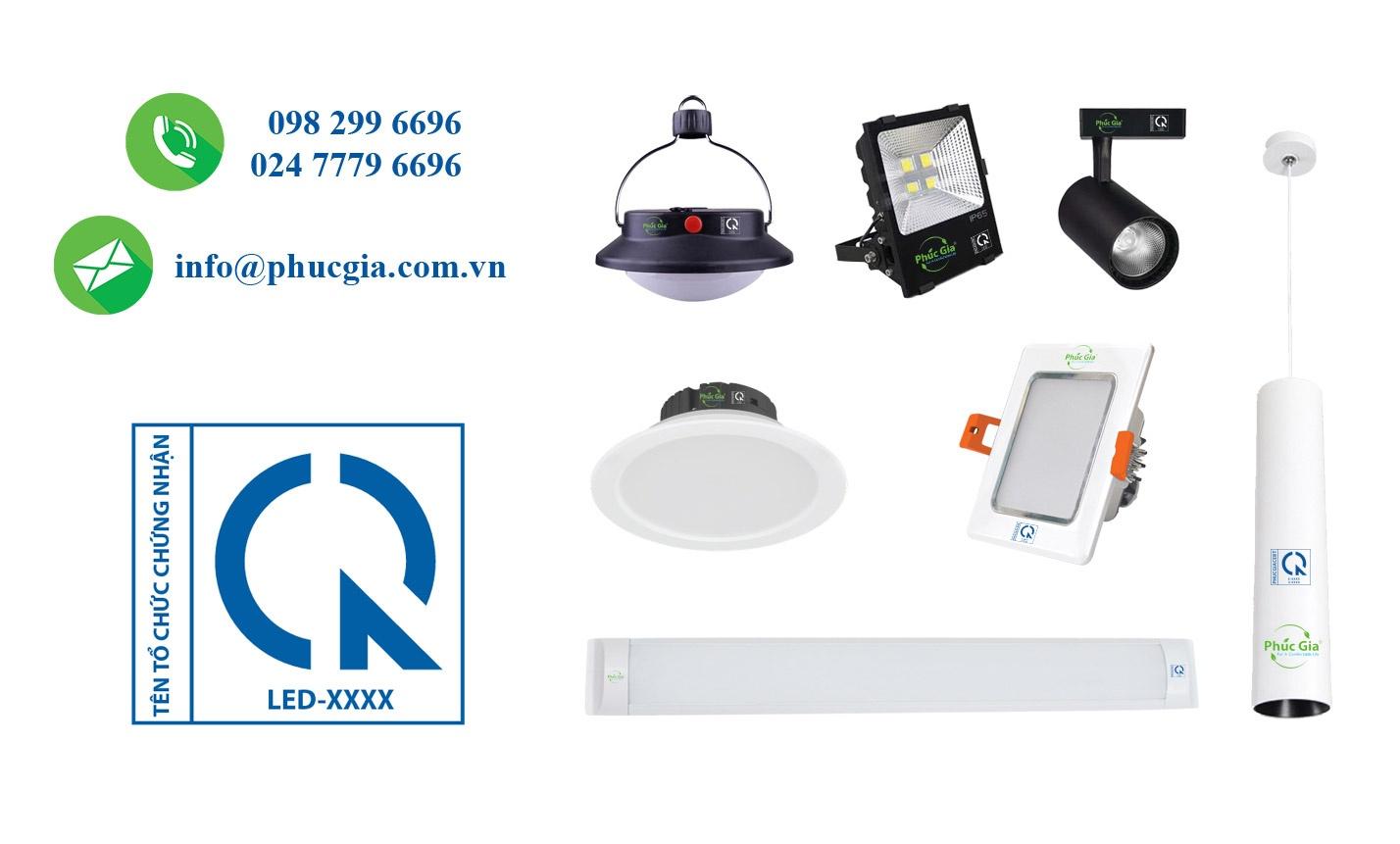 đèn LED QCVN 19