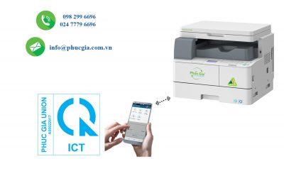 Hợp Quy Máy Photocopy Có Chức Năng Wifi