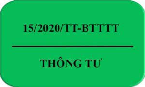 15/2020/TT-BTTTT