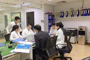 Phúc Gia Lab làm việc với bộ ban ngành