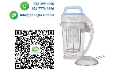 Công Bố ATTP Cho Máy Làm Sữa Đậu