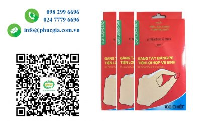 Phúc Gia® - Công Bố An Toàn Thực Phẩm Cho Bao Tay Nilon