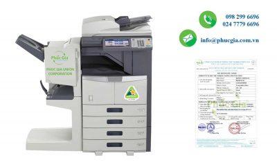 Kết quả thử nghiệm máy Photocopy