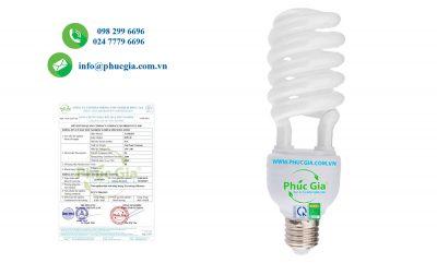 Kết quả thử nghiệm HSNL đèn huỳnh quang Compact