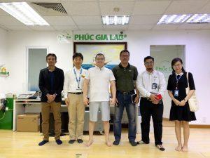 Phúc Gia Lab trao đổi về thử nghiệm bình nước nóng