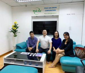 Phúc Gia Lab trao đổi về thử nghiệm đèn LED với chuyên gia