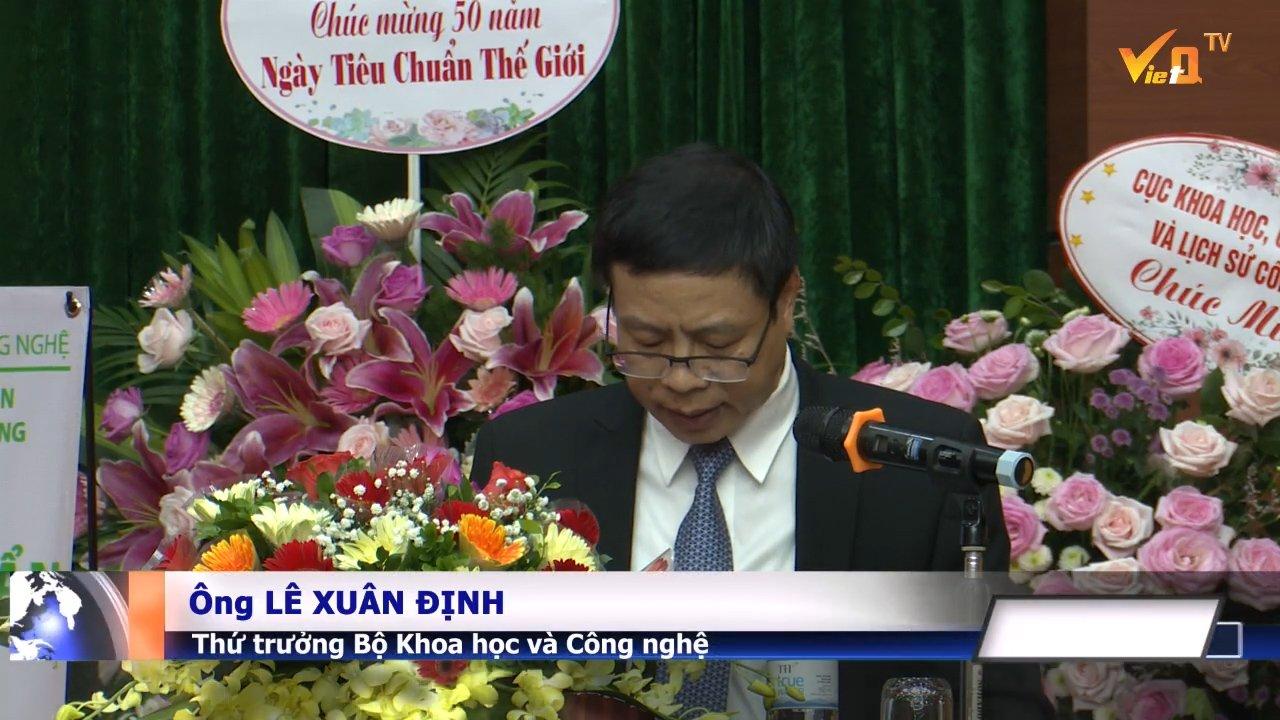 Thứ trưởng Bộ Khoa học và Công nghệ - Ông Lê Xuân Định Phát biểu khai mạc đại hội