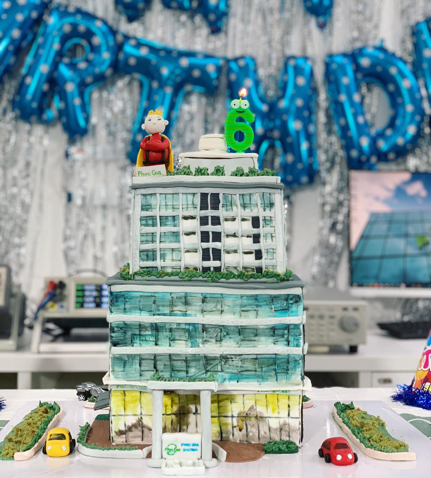 Bánh mừng sinh nhật lần thứ 6 của Phúc Gia