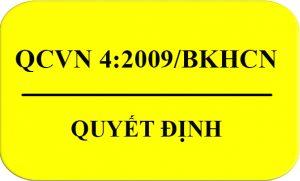 QCVN 4:2009/BKHCN